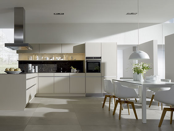 If any SieMatic kitchen can lay claim to classic style  it is the SieMatic  6006  The striking new design  displayed at SieMatic Forum 2010 in Greige    SieMatic Press Release  SieMatic Unveils New and Redesigned  . Siematic Kitchen Designs. Home Design Ideas