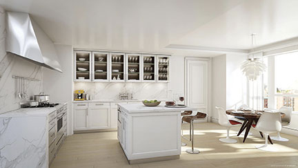siematic beauxarts02 is centerpiece of cetraruddy gourmet kitchens